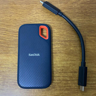 サンディスク(SanDisk)のSanDisk サンディスク エクストリーム ポータブル SSD 2TB (PC周辺機器)