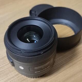 SIGMA - SIGMA 30mm F1.4 DG HSM Canon EFマウント