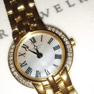 STAR JEWELRY - スタージュエリー ダイヤモンド 腕時計 シェル盤 ダイヤ0.13ct