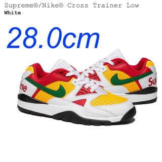 Supreme - supreme nike cross trainer low white