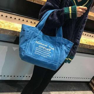 ⭐️SALL⭐️【ブルー】トートバッグ 2way レディース ハンドバッグ(トートバッグ)