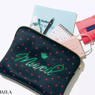 ミュベールワーク(MUVEIL WORK)のBAILA バイラ ミュベール × BAILA りんご柄ボンディングケース(ポーチ)