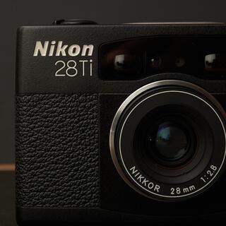 Nikon - Nikon ニコン 28Ti 28mm F2.8 AF 高級コンパクトカメラ