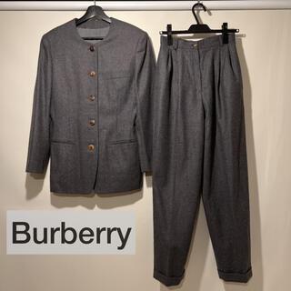 バーバリー(BURBERRY)の美品 バーバリー セットアップ ジャケット パンツ フォーマル 卒業 卒園 入学(スーツ)