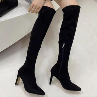 ESPERANZA - ロングブーツ ニーハイブーツ ブーツ 秋靴 ヒール
