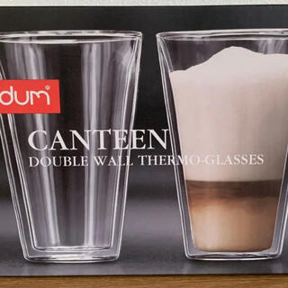 ボダム(bodum)のボダム キャンテーン 400ml ダブルウォールグラス(グラス/カップ)