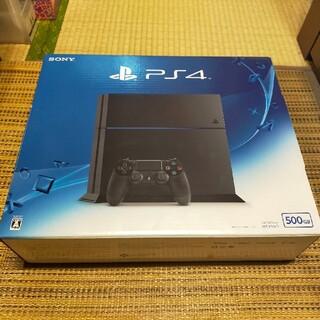 PlayStation4 - PlayStati4本体 ジェットブラック 500GB