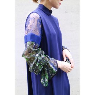 mame - mame kurogouchi ステンドグラス レース ワンピース ドレス