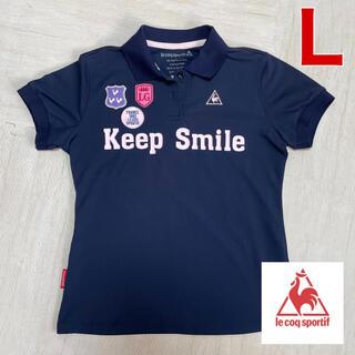 le coq sportif - 新品 美品 ルコックスポルティフ ゴルフウエア レディース 半袖 ポロシャツ L