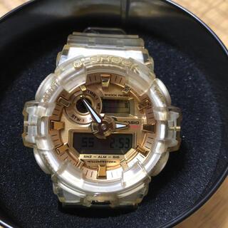 ジーショック(G-SHOCK)のG-SHOCK 35周年モデル グレイシアゴールド(腕時計(デジタル))