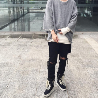 FEAR OF GOD - fear of god fourth collection カットソー グレー