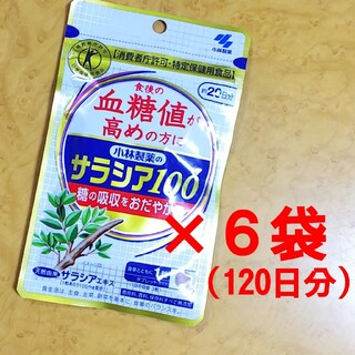 小林製薬 - サラシア100 20日 × 6袋