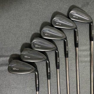 PING - ピン アイアンセット G710 PING  dynamic gold