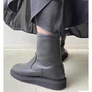 L'Appartement DEUXIEME CLASSE - 【CAMINANDO】TRECK SOLE BACK ZIP BOOTS