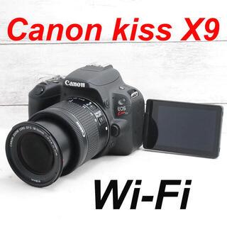 Canon - ❤️Wi-Fi&Bluetooth❤️自撮り❤️Canon kiss X9