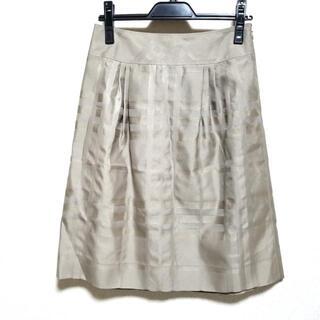 バーバリー(BURBERRY)のバーバリーロンドン ロングスカート 36 M -(ロングスカート)