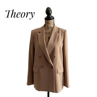 theory - Theory セオリー ジャケット ベージュ レディース