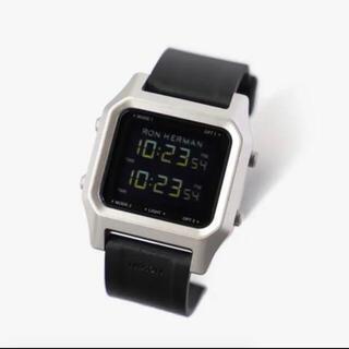 ロンハーマン(Ron Herman)のロンハーマンRHC別注NIXON STAPLE RHC  (腕時計(デジタル))