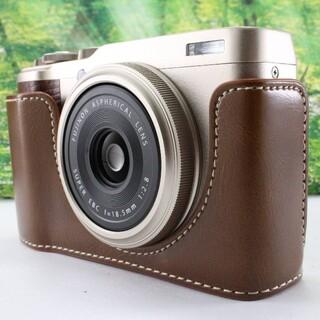 富士フイルム デジタルカメラ XF10 シャンパンゴールド