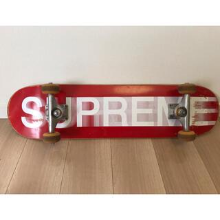 Supreme - SUPREME スケートボード モーションロゴ シュプリーム