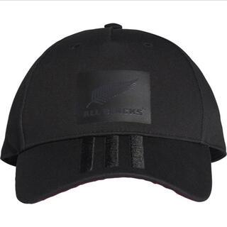 adidas - アディダス キャップ 帽子 【オールブラックス.新品同様】