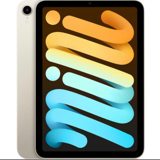 Apple - ipad mini 6 スターライト 64gb