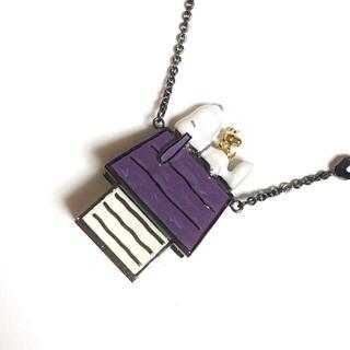 アナスイ(ANNA SUI)のアナスイ ネックレス美品  - 金属素材(ネックレス)