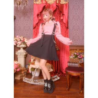 MA*RS - 送料無料 美品 プリメロ パールハートバックル付きフレアジャンスカ スカート