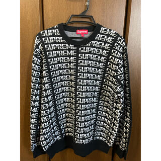 Supreme - シュプリーム SUPREME Repeat Sweater ニット セーター L