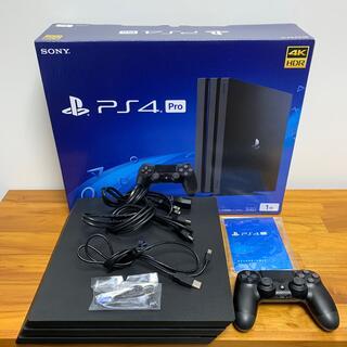 PlayStation4 - SONY PS4 Pro 本体  1TB CUH-7000BB01