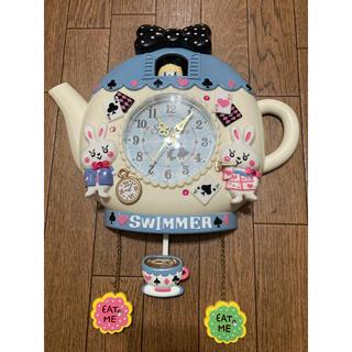 SWIMMER - SWIMMER 掛け時計 アリス