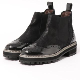 ファビオルスコーニ(FABIO RUSCONI)のPertini サイドゴア ブーツ 35(ブーツ)