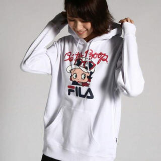 FILA - 【FILA×BETTY BOOP】フィラ×ベティブープ スウェット パーカー