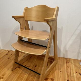 カトージ(KATOJI)のKATOJI カトージ  木製チェア   キッズチェア ベビーチェア 木製椅子(その他)