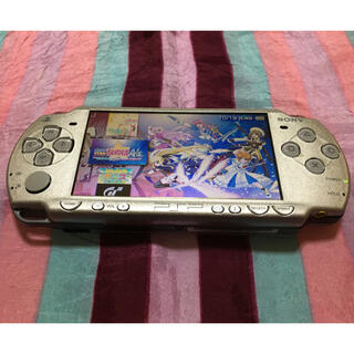 PlayStation Portable - SONY PSP 2000 シルバー メモステ64GB新品付属