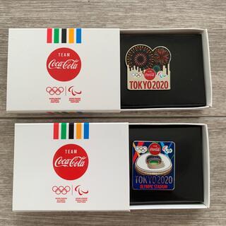 コカ・コーラ - コカコーラ 東京オリンピック ピンバッチ