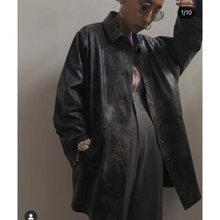 アメリヴィンテージ(Ameri VINTAGE)のameri crash leather coat& pants(レザージャケット)