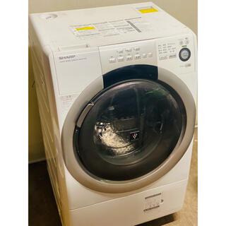 SHARP - 早い者勝ち ドラム式洗濯機 シャープ プラズマ ES-S70  2014年