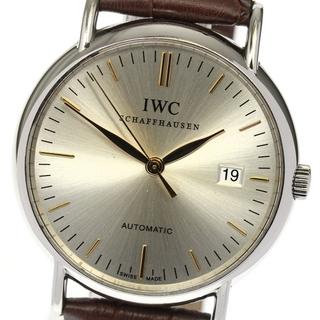 インターナショナルウォッチカンパニー(IWC)のIWC ポートフィノ デイト IW356303 自動巻き メンズ 【中古】(腕時計(アナログ))