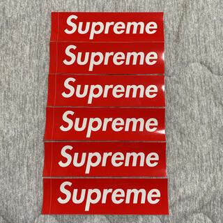 Supreme - Supreme 正規品 ボックスロゴ ステッカー 6枚 セット