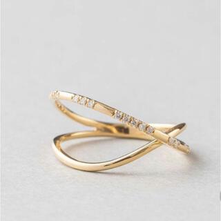 ete - 【ete】【美品】ダイヤモンドリング
