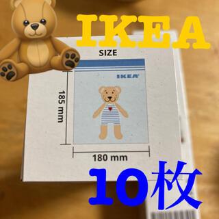 イケア(IKEA)のIKEA くまさん 10枚 ジップロック(収納/キッチン雑貨)