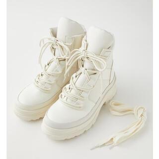 マウジー(moussy)のmoussy♡DOUBLE SHOELACES ブーツ(ブーツ)