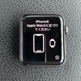 アップルウォッチ(Apple Watch)のApple Watch シリーズ3 GPS 42mm NIKE スペースグレー(その他)