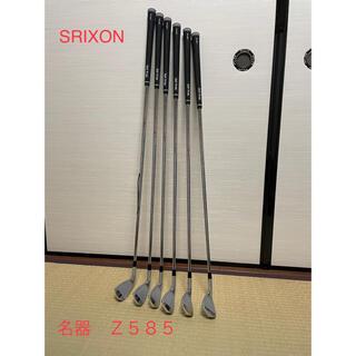 スリクソン(Srixon)のスリクソン SRIXON Z585 アイアン セット P〜5番 (クラブ)