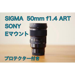 SIGMA - SIGMA 50mm f1.4 DG HSM ART SONY Eマウント