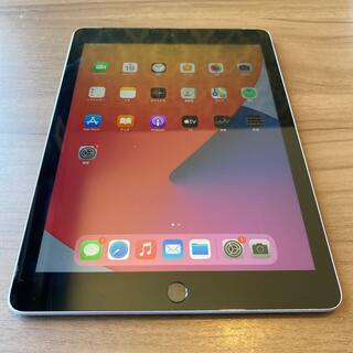 Apple - 5671k  iPad6 32G Gray SIMフリー 中古品