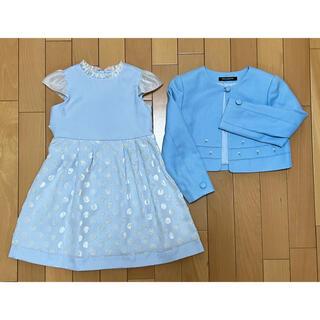 ミキハウス(mikihouse)の[ミキハウス]size:100(110)☆ボレロ付フォーマルワンピース ドレス(ドレス/フォーマル)
