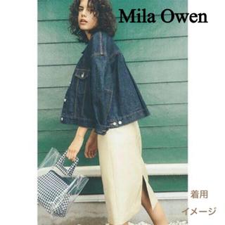 ミラオーウェン(Mila Owen)の美品 洗える 大きめ ミラオーウェン Gジャン ジージャン デニムジャケット(Gジャン/デニムジャケット)