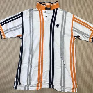 DESCENTE - DESCENTE 買ってに持って帰ってくださいシリーズポロシャツ